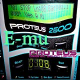 E-mu PROTEUS - THE King of Dance Modules - Large Original 24bit Multi-Layer WAVe/Kontakt Samples/Loops Studio Library; FREE USA Continental Shipping on DVD or download