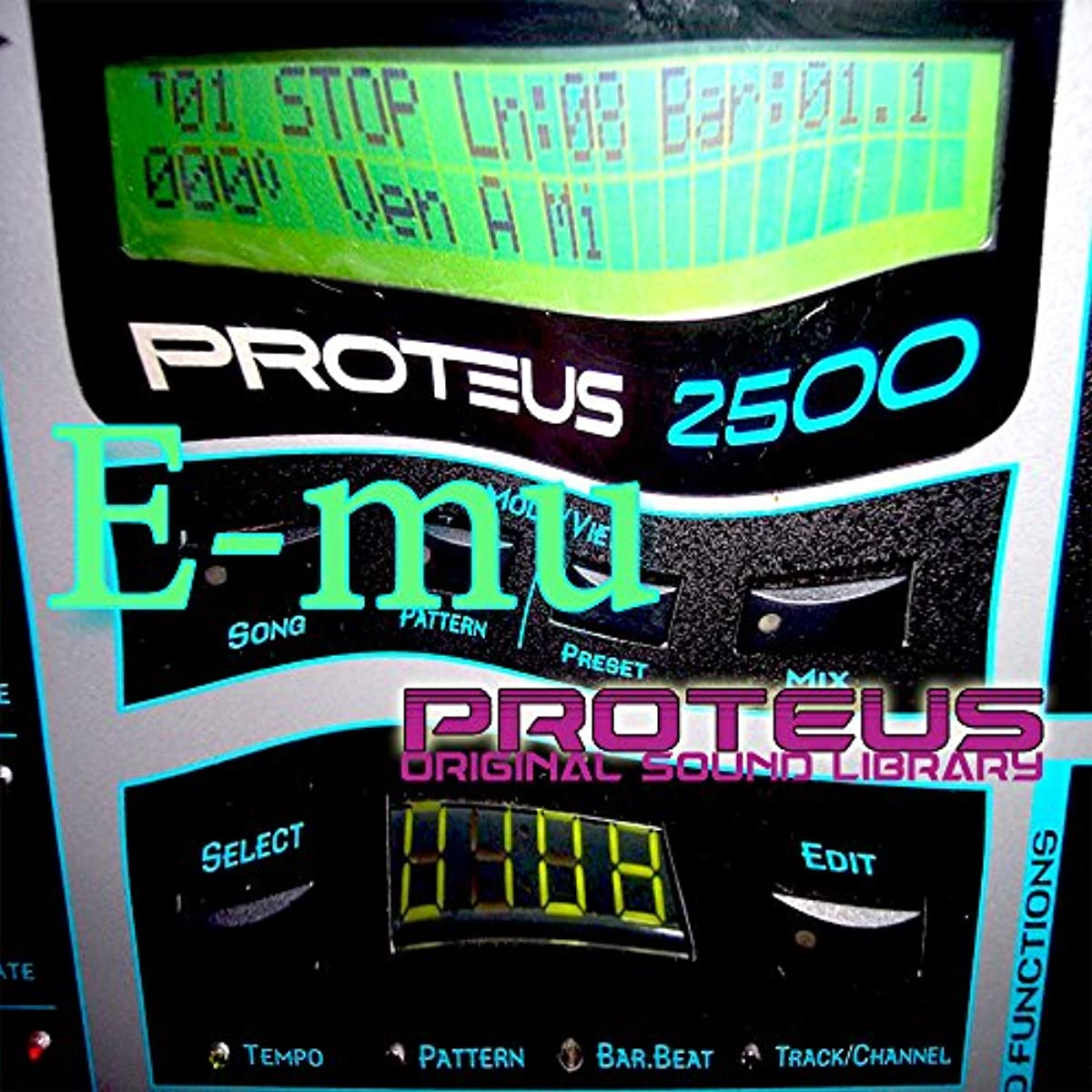 [해외] E-MU PROTEUS - THE KING OF DANCE MODULES - LARGE ORIGINAL 24BIT MULTI-LAYER WAVE/KONTAKT SAMPLES/LOOPS STUDIO LIBRARY ON DVD OR DOWNLOAD