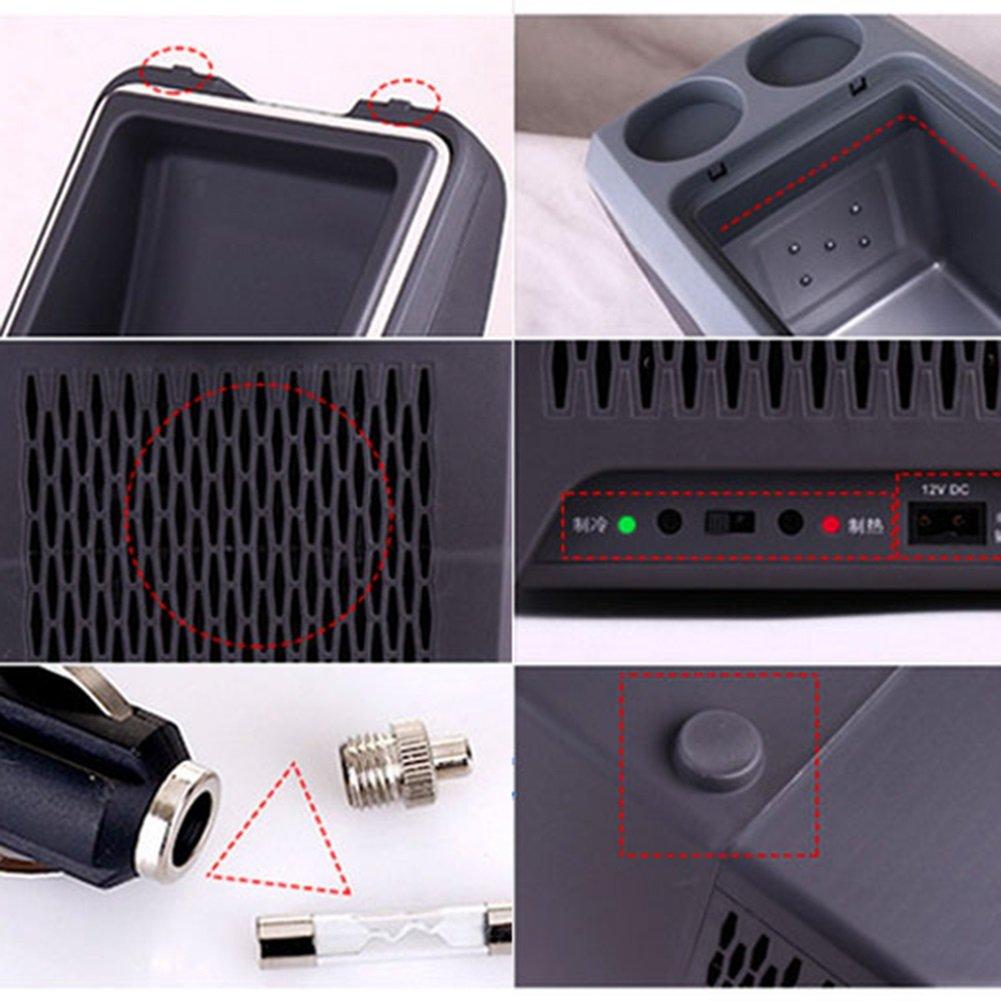 LIQICAI Auto 10L Elektrische Kühlbox Tragbar Tragegurt Auto LIQICAI Minikühlschrank Erhitze 2 Tassenhalter an der Spitze 12V DC (Auto) 220V AC (Zuhause) (größe   for Car+Home) eb4b39