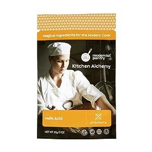 Pure Malic Acid ⊘ Non-GMO ❤ Gluten-Free ☮ Vegan ✡ OU Kosher Certified - 50g/2oz