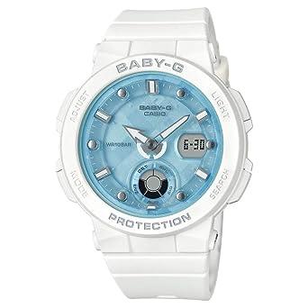 BABY-G Reloj Analógico-Digital para Mujer de Cuarzo con Correa en Resina BGA-250-7A1ER: Amazon.es: Relojes