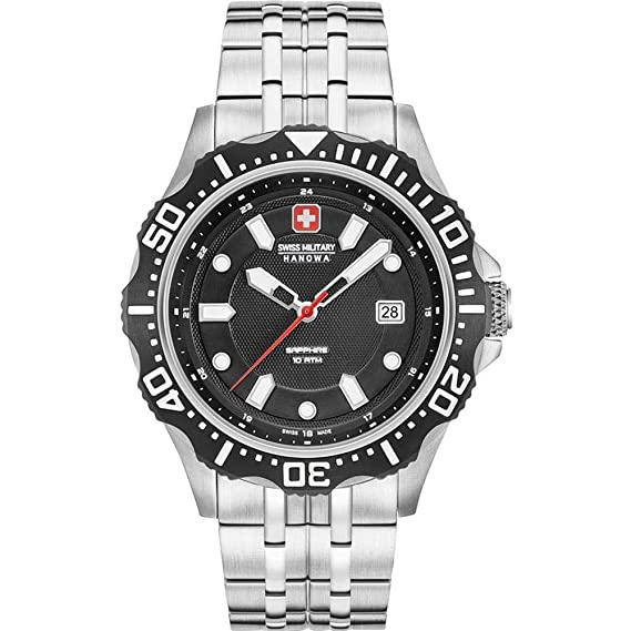 Swiss Military Hanowa - Reloj de Pulsera 06 - 5306.04.007: Amazon.es: Relojes