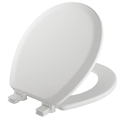 Mayfair Toilet Seat Installation.Mayfair Toilet Seat Will Never Loosen And Easily Remove Round Durable Enameled Wood White 41ec 000