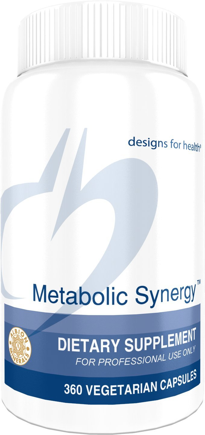 Designs for Health - Metabolic Synergy - 360 Vegetarian Capsules