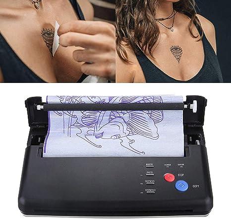 KKmoon Fotocopiadora Térmica Tatuaje Portátil A4,Impresora Tatuaje ...