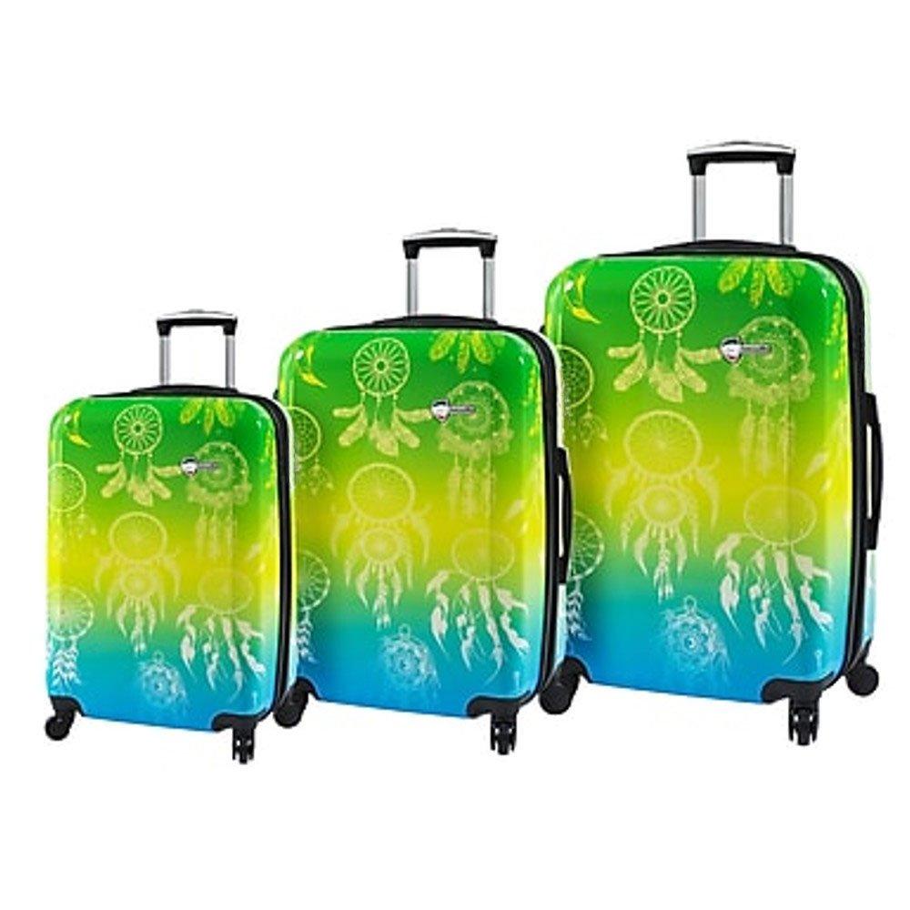 Mia Toro ITALY Love This Life-Dream Catcher Hardside Spinner Luggage Set - 3 PCs