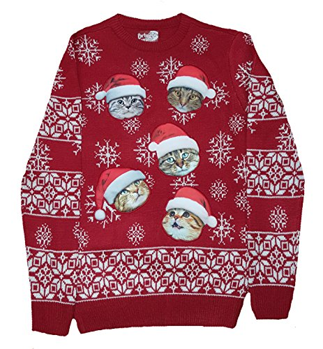 Christmas Cats Pullover Sweater