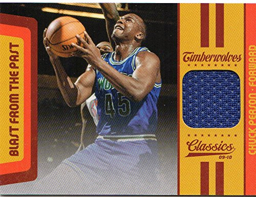 2009-10 Classics Blast From The Past Jerseys #19 Chuck Person Jersey /199 - NM-MT