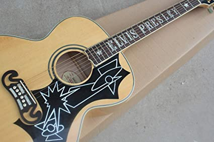 Amazon Com Fidgetfidget 43 Natural Wood Color Elvis Presley Style