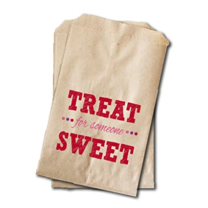Amazon Com Valentine S Day Candy Bags Valentine S Day Party Favor