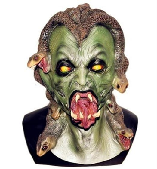 tytlmask Máscara De Gorgona Serpiente De La Mitología Griega ...