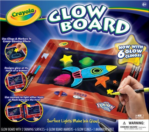Crayola Color Explosion Glow Board (Neon Color Explosion)