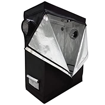 Oshion 4x2x5 Feet Small Indoor Mylar Hydroponics Grow Tent Room (48u0026quot;x ...  sc 1 st  Amazon.com & Amazon.com : Oshion 4x2x5 Feet Small Indoor Mylar Hydroponics Grow ...