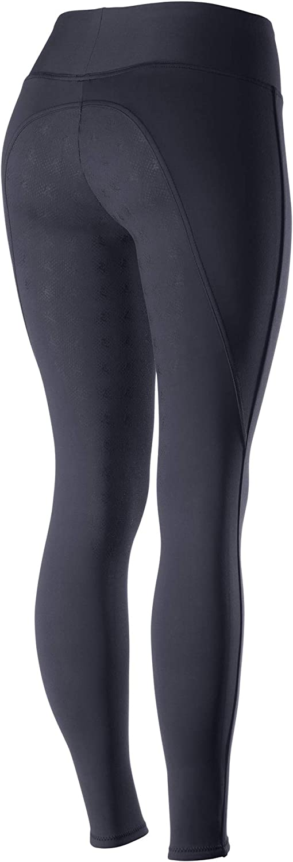 HORZE Pantalones de Montar Pull-on de Asiento Completo H/íper Flexibles para Mujer Juliet