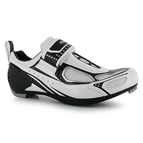 Zapatillas de ciclismo TRI100, de Muddyfox. Transpirables. Para hombre: Amazon.es: Zapatos y complementos