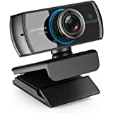 HD Live Streaming Webcam 1536P/1080P 3.0 Megapixel with Double Microphone Video Calling Recording Stream Camera Works with Xbox One Support Facebook YouTube for PC Mac Book Laptop Smart TV Box