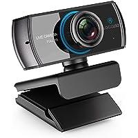 HD Live Streaming cámara web 1536P/1080P 3.0 Megapixel con doble micrófono de grabación de vídeo Calling Stream Camera funciona con Xbox One soporte Facebook YouTube para PC Mac Book Laptop Smart TV Box