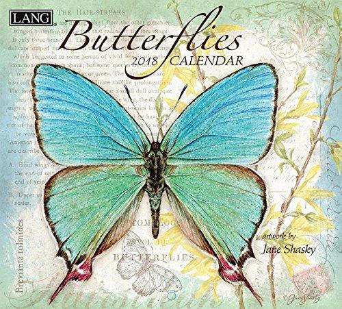 Download Butterflies 2018 Calendar: Includes Downloadable Wallpaper PDF