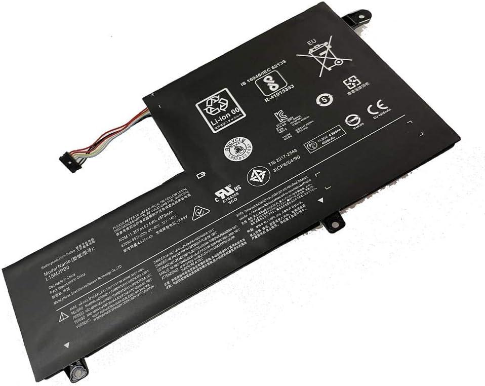 Powerforlaptop Laptop/Notebook Replacement L15M3PB0 Battery for Flex 3 IdeaPad 1470 1480 Flex 4 310S 520S Edge 2-1580 M51-80 S41-70 Series 5B10K84494 L15M3PBO L15L3PB0