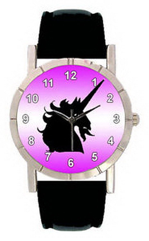 jwl1112ユニコーンシャドウメンズレディース本革クオーツMovement腕時計 B01N7J9954