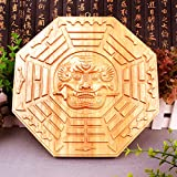 better us Feng Shui Tiger Head Chinese Bagua Mirror 6 Inch