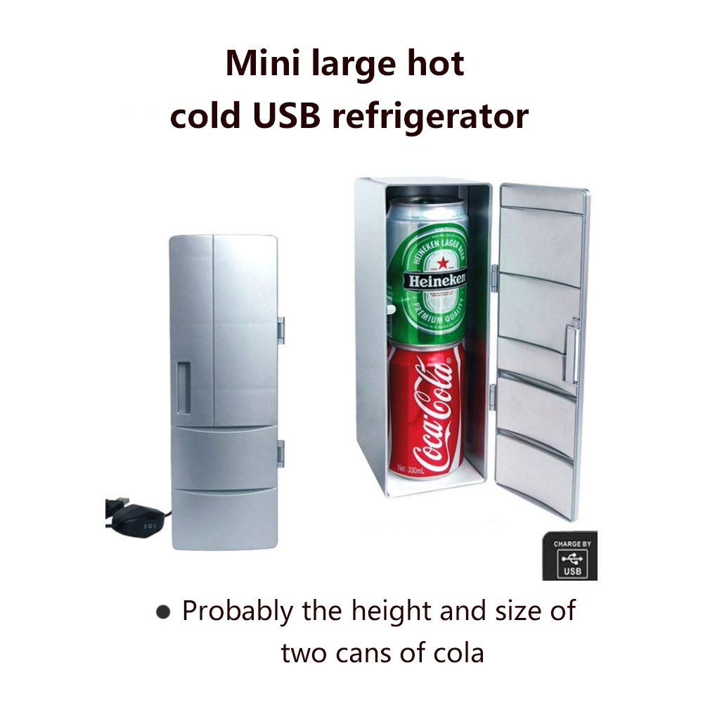 Mini USB Nevera Bebidas portátiles Medicamentos Cosméticos ...
