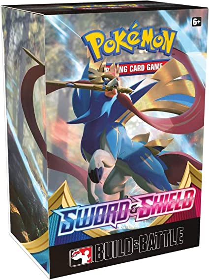 Pokemon TCG Sword /& Shield Darkness Ablaze Build /& Battle Box New//Sealed