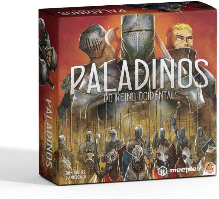 EDICIONES PRIMIGENIO- Paladines del Reino del Oeste - Juego de Mesa (PDRO): Amazon.es: Juguetes y juegos