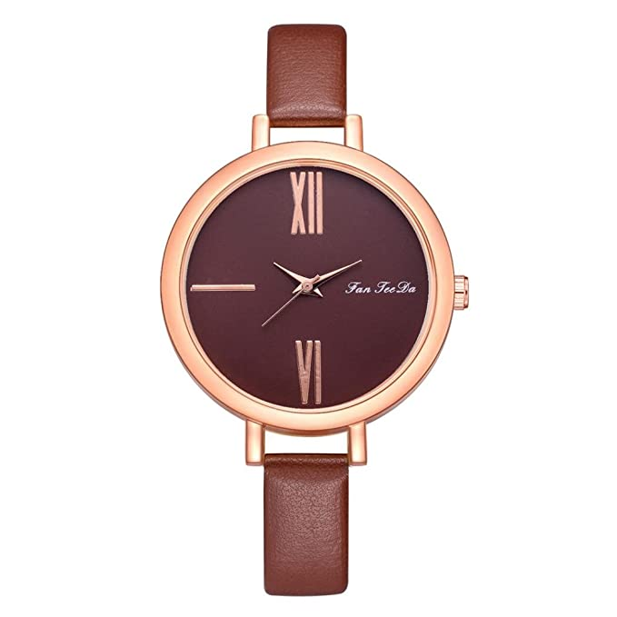 Amazon.com: Siviki - Reloj de pulsera para mujer con correa ...
