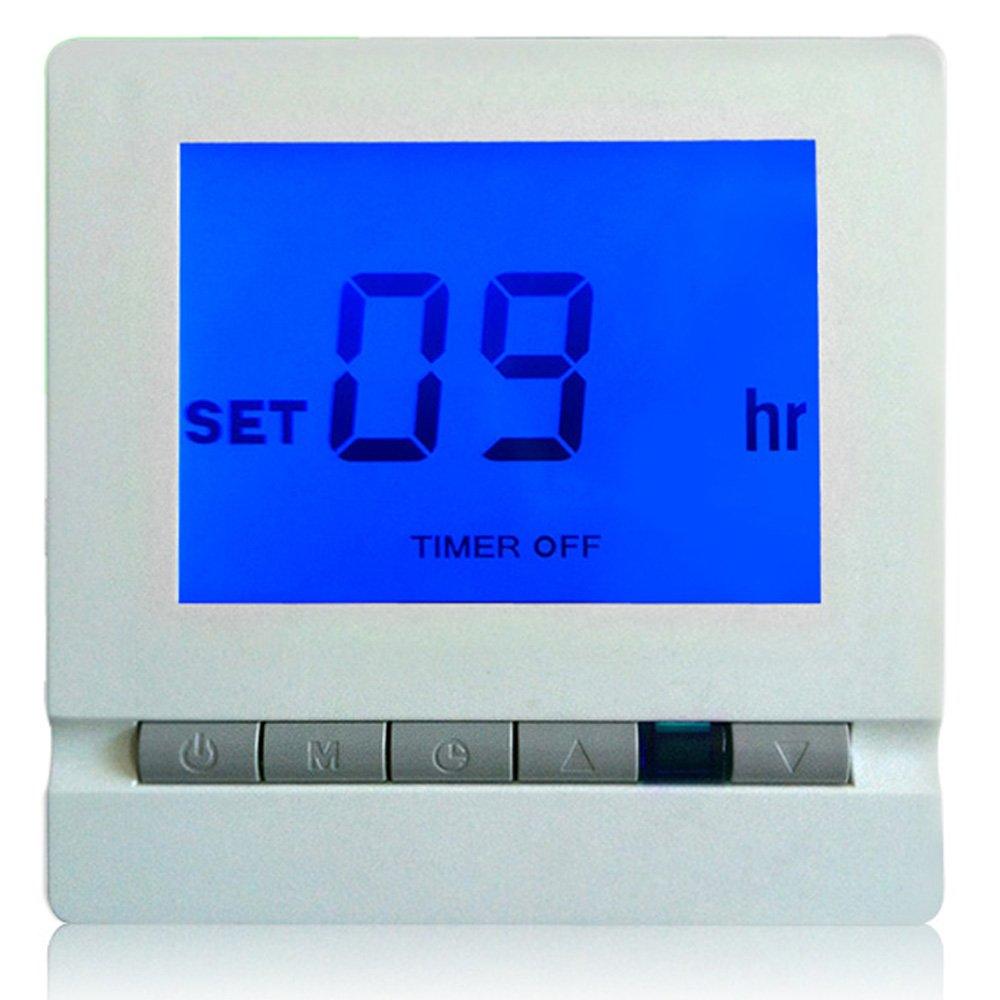 sypure (TM) Bahnhof METEO Funk Heizung Thermostat mit Fernbedienung LCD Temperatur Controller thermometre Estacion metereologica