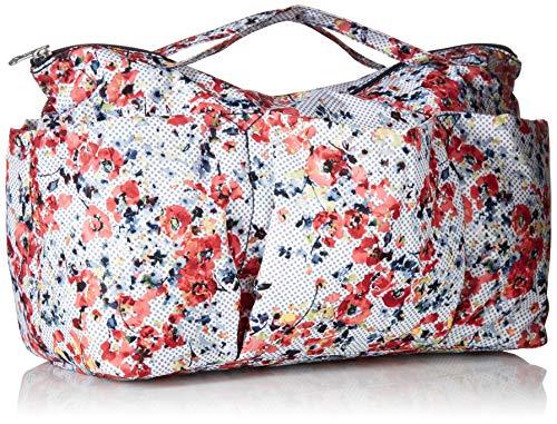 Amazon.com  Kipling Beckett Printed Handbag Organizer Busy Blossoms   Clothing 500f3e5a57c3e