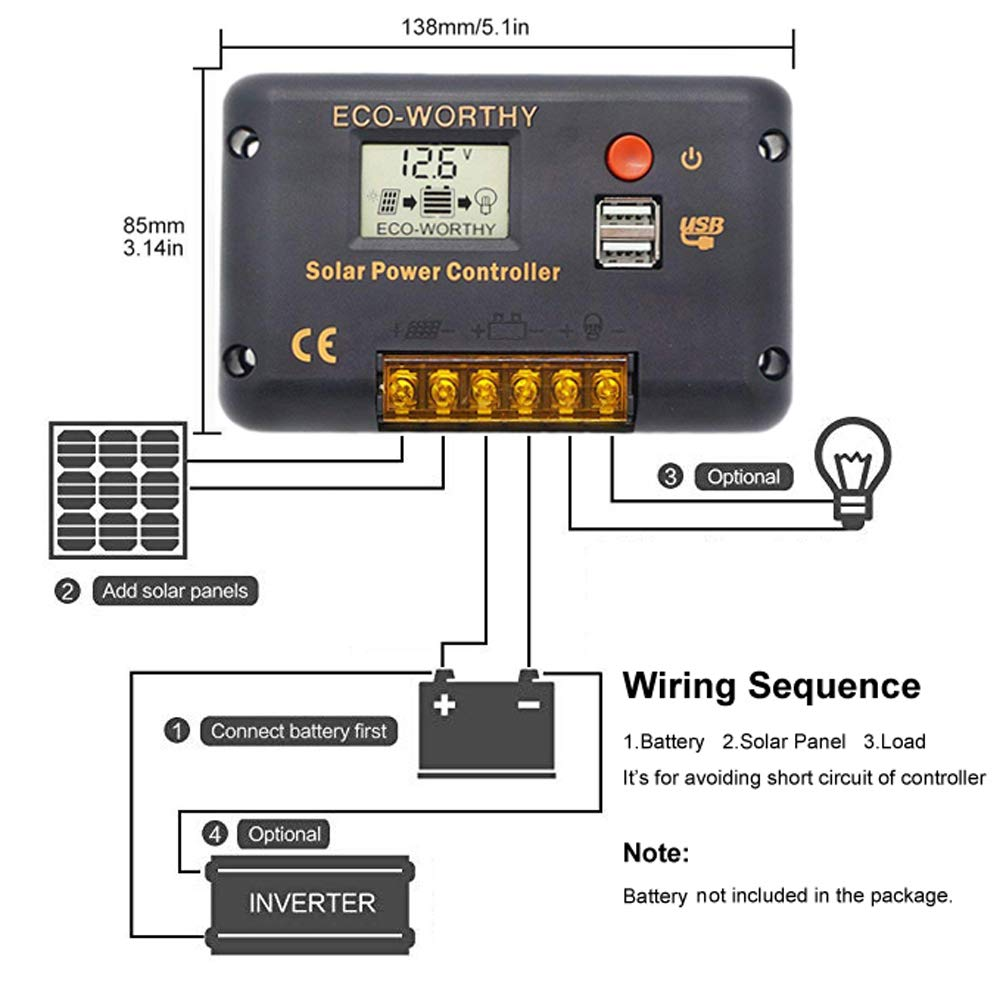 Solar Garden Light Circuit Diagram On Inverter Circuit Diagram 555