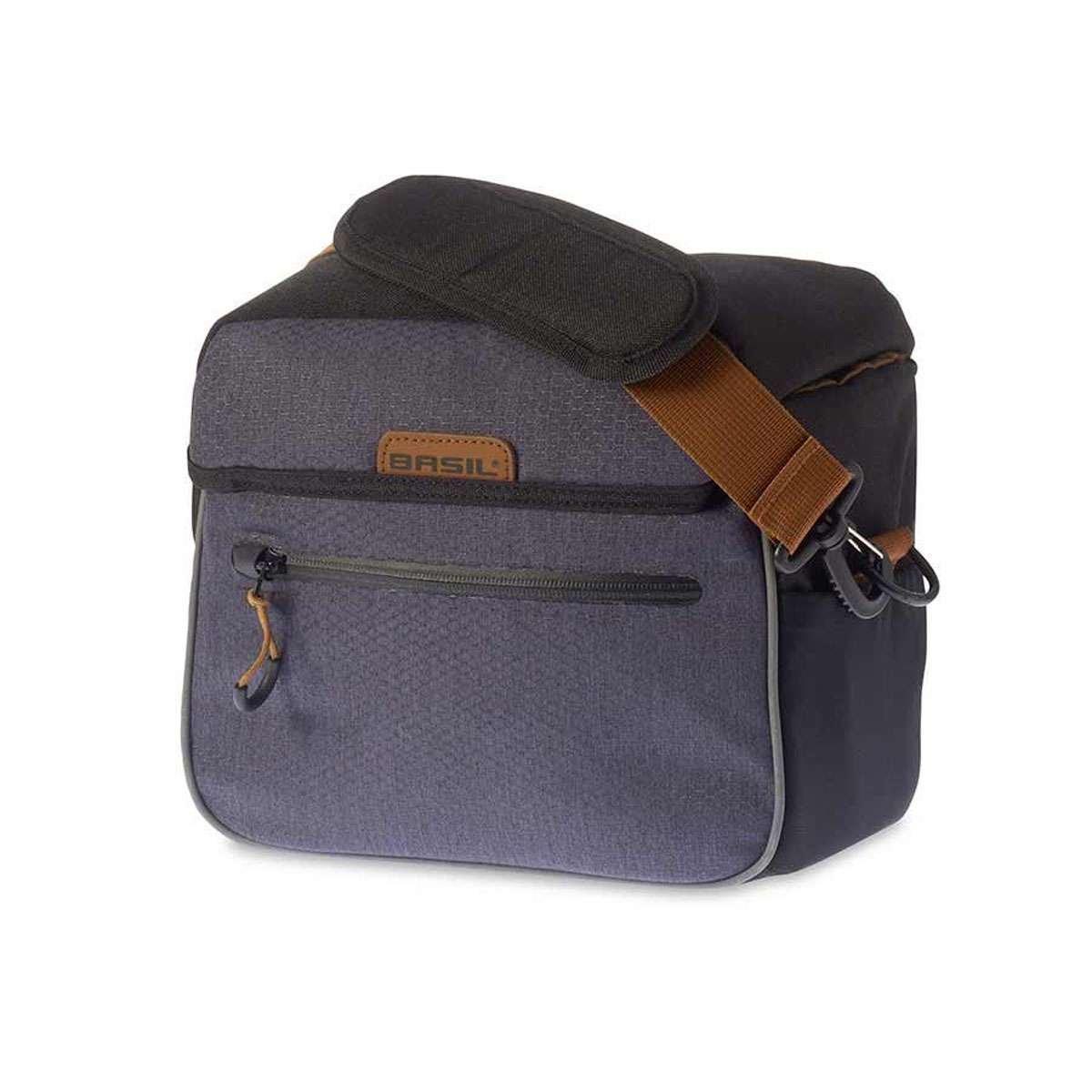 Basil 17667 Mile, Handlebar Bag, Black/Slate