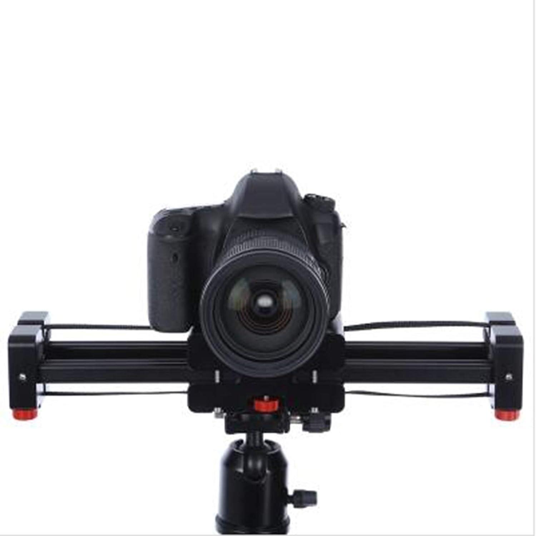 1/4 3/8インチポータブルデジタル一眼レフカメラカムコーダー 540mmスライダー レッド ブラック   B07HHQ88XZ