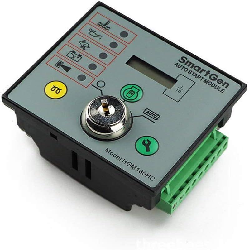 Diesel Controlador grupo electrógeno, generador único módulo de la máquina de arranque automático