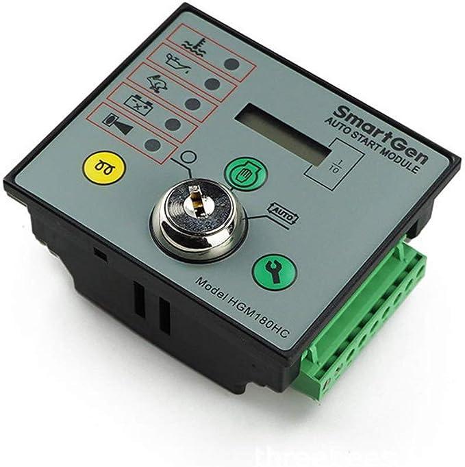 HEQIE-YONGP Partes electrónicas automotrices, Diesel Controlador Grupo electrógeno, generador único módulo de la máquina de Arranque automático