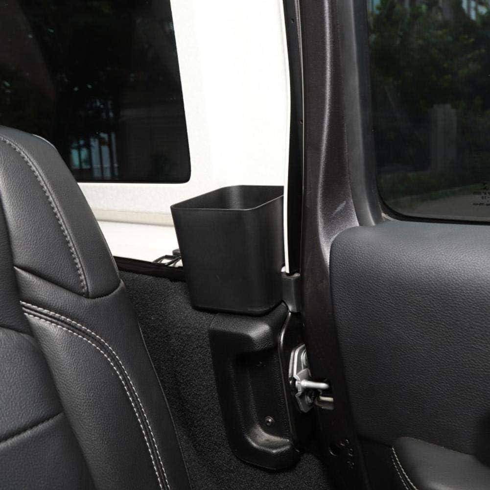 Cuttey 2er Pack Auto R/ücksitz Aufbewahrung Veranstalter Tablett Interieur Zubeh/ör F/ür 2018-2020 Jeep Wrangler JL JLU JT 4 T/ürer