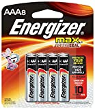 #5: Energizer Max Premium AAA Batteries, Alkaline Triple A Battery (8 Count) E92MP-8