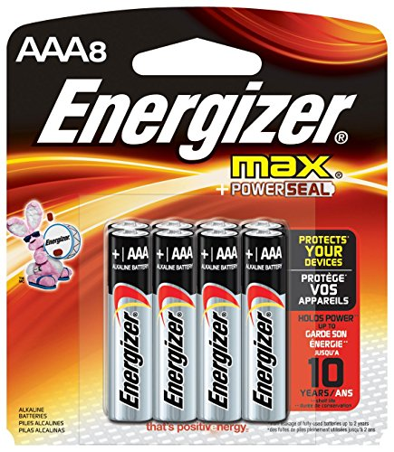 Energizer Max Alkaline AAA Batteries product image