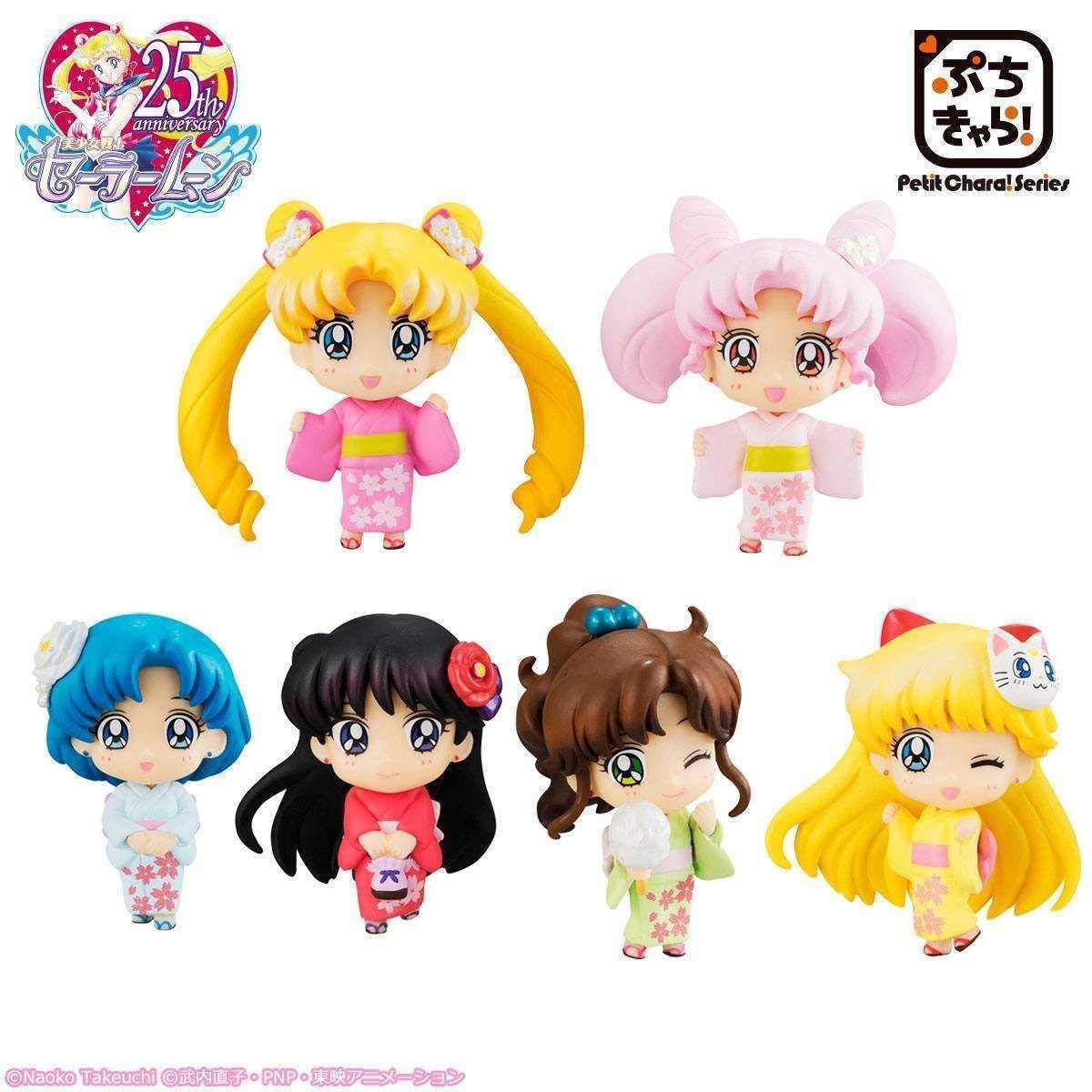 moda clasica Figura Sorpresa Sailor Moon Petit Petit Petit Chara Cherry Blossom Festival  suministramos lo mejor