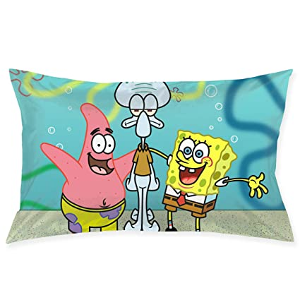 Magnificent Amazon Com Pillow Cases Spongebob Squarepants And Friends Gmtry Best Dining Table And Chair Ideas Images Gmtryco