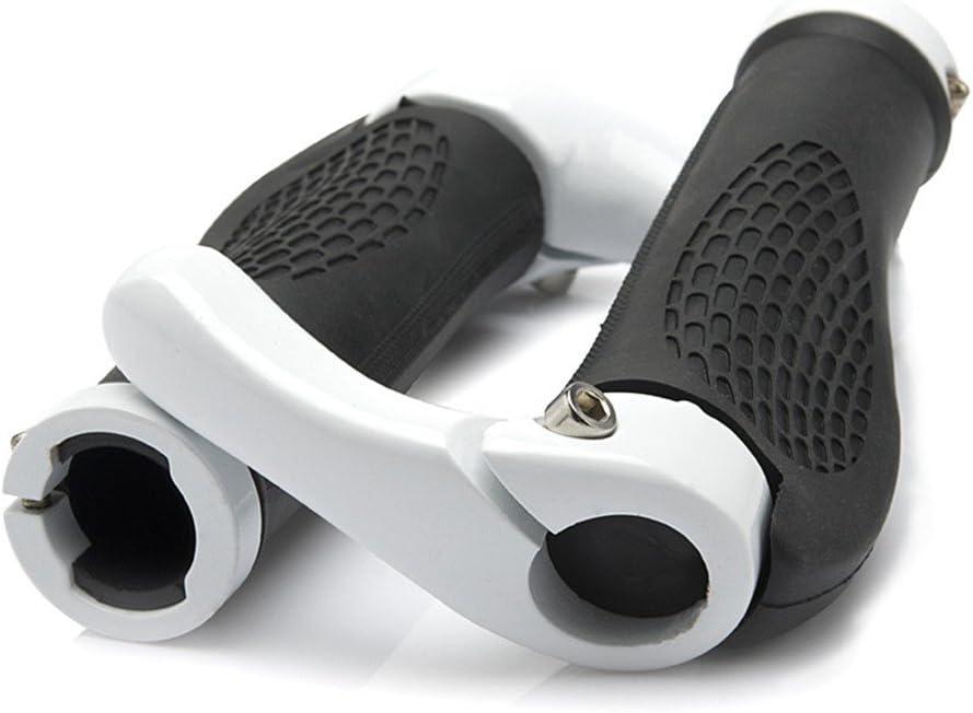 doppio blocco Manopole per mountain bike con bloccaggio sul manubrio della bicicletta anche per BMX Floding Orangepeople design ergonomico e confortevole