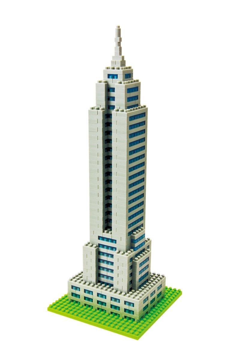 Amazon Nanoblock Empire State Building Kit Toys Games