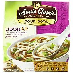 Annie Chun\'s Udon Soup Bowl, 5.9 oz, PACK OF 6