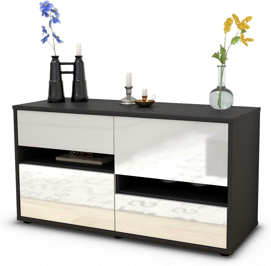 Stil.Zeit Alina - Mueble para televisor (92 x 49 x 35 cm, con ...
