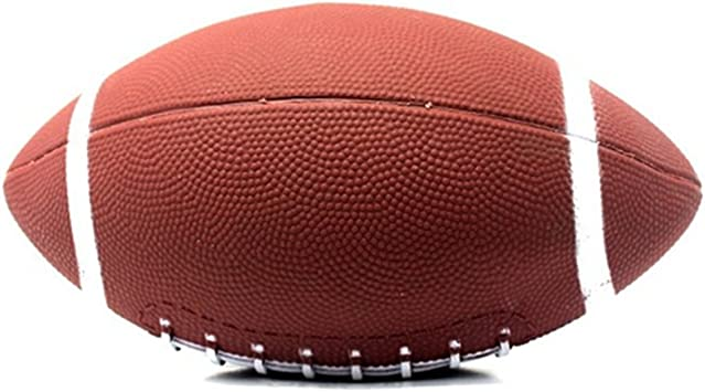 1 pieza pelota de rugby 6 # pelotas de fútbol americano de goma ...