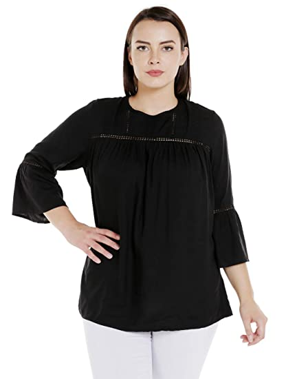 19fccd6935ea Junarose Plus Size Women Casual Top  Amazon.in  Clothing   Accessories