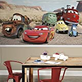 RoomMates JL1412M Disney Cars Desert XL Chair Rail Prepasted Mural, 6 x 10.5'