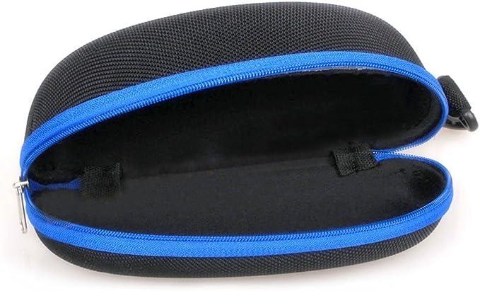 17 cm /× 8 cm pochette de protection l/ég/ère en n/éopr/ène /à fermeture /à glissi/ère sherry-shop /Étui souple de lunettes de soleil de tracteur avec clip de ceinture