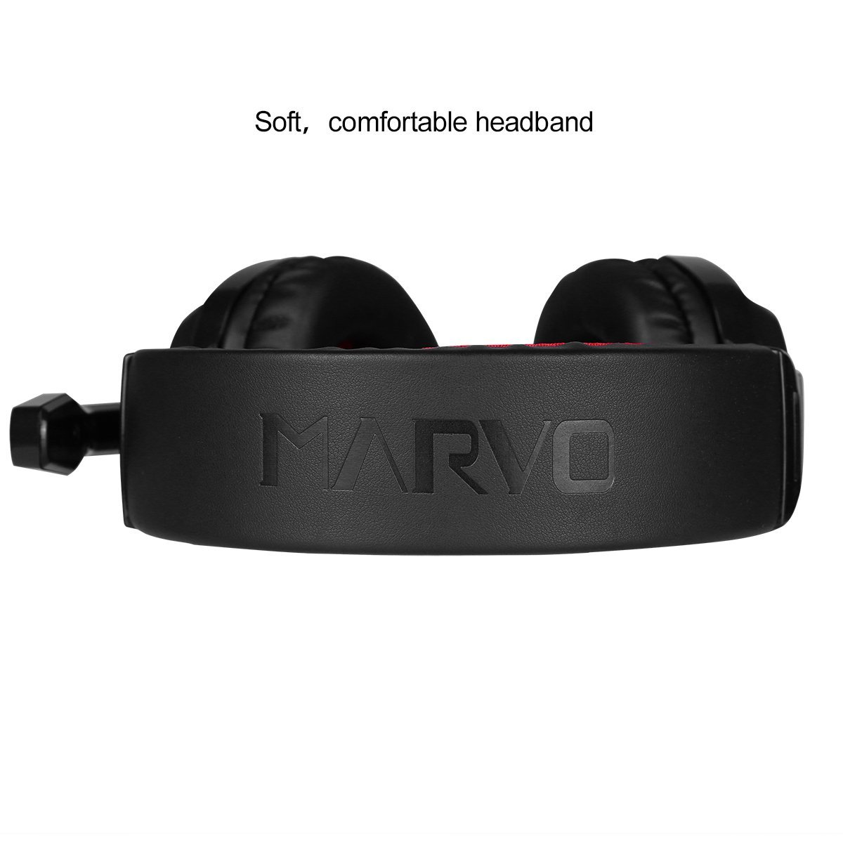 Marvo H8329 Stereo Gaming Headphone Headset With Headseet H8629 Microphone Red Computers Accessories